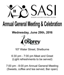 SASI AGM & Celebration @ Osprey Arts Centre
